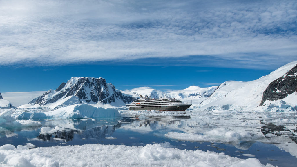 The White Continent Antarctica Luxury Cruise