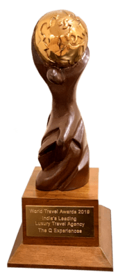 World travel awards trophy 2019-min